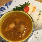 野菜と鶏のスープカレー