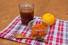自家製薬味「黄柚子胡椒」と「柚子ぽん酢」