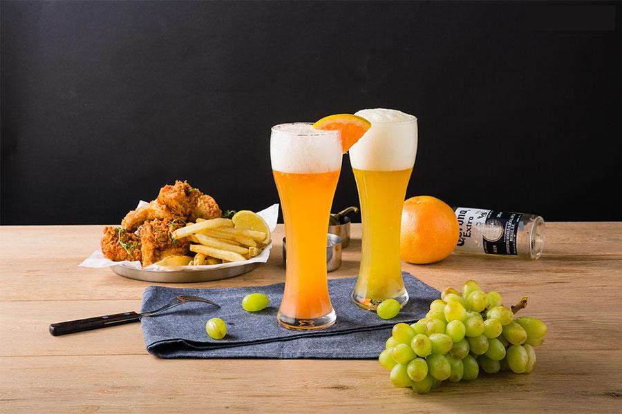 フルーツの甘い香りただよう、ご褒美ビール