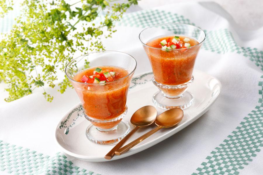 スペインの冷製スープ、ガスパッチョ