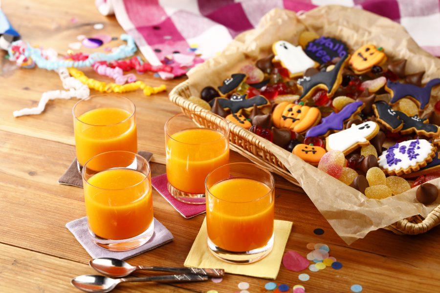 素材の甘みがやさしい♪にんじん・オレンジゼリー