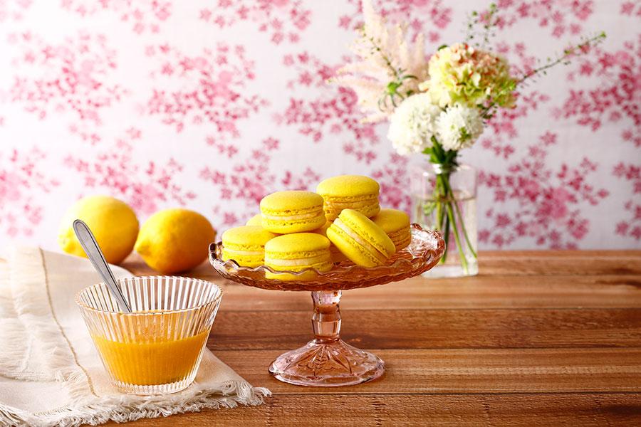 レモンマカロン