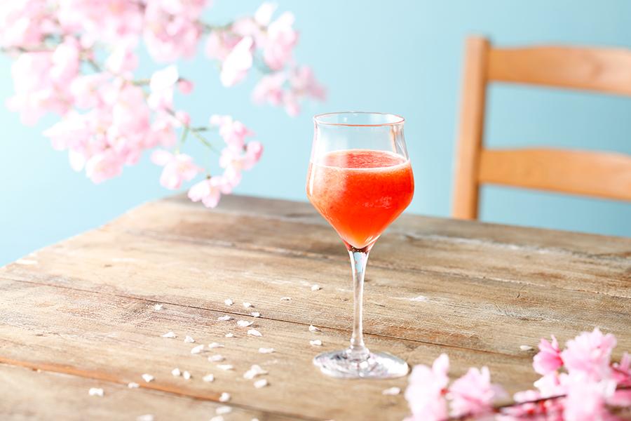 いちご・グレープフルーツ・りんごジュース