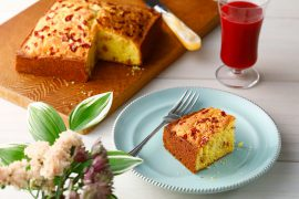 アップルジンジャーのパルプケーキ