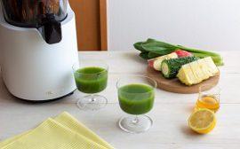 パイナップル・ゴーヤ・小松菜のジュース